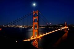 Golden Gate Bridge from Marin Headlands (Battery Spencer), San Francisco, CA - 6/18/2016 (Mickey Lo Photography) Tags: sanfrancisco bridge blue light sunset water june outdoor goldengatebridge marinheadlands batteryspencer 2016