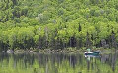 Moucheur Solitaire (Renald Bourque) Tags: lake lac flyfishing pcheur pche