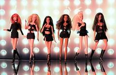 My Pussycat Dolls, Dolls (Willyssa) Tags: dolls buttons barbie pussycat pcd