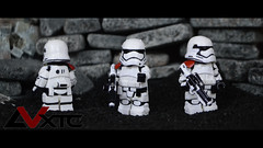 First Order Stormtrooper - Casted Set (AndrewVxtc) Tags: star order force lego first 7 stormtrooper wars custom episode awakens andrewvxtc