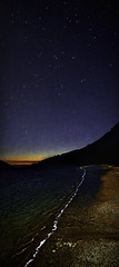North Point Night (Steve Walser) Tags: night stars beach shore evening sunset
