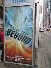 Star Trek Beyond Poster Billboard Phone Booth AD 2016 NYC 1892 (Brechtbug) Tags: show street new york city nyc fiction film television st trek booth movie poster star tv jj theater phone mr theatre near manhattan district space rip ad broadway science billboard midtown sidewalk ave captain spock scifi series beyond anton 1960s avenue abrams 7th futuristic kirk 42nd 2016 standee standees yelchin 06282016