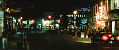Harvard Square (Daniel Scarnecchia) Tags: 50mm nikon danielscarnecchia people massachusetts 2016 film harvardsquare f3 800t cinestill streetphotography cambridgema believeinfilm unitedstates harvard f14 filmisnotdead cambridge cinestill800t ma usa harvarduniversity