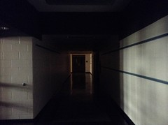 Elementary school alleyways (the ghost in you) Tags: school dark halloween halloweenii halloween2 hallways