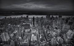 Memories of New York (Zearil) Tags: lighting nyc bw newyork nikon uptown esb empirestate hellskitchen d7100