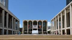 Lincoln Center Plaza (Eddie C3) Tags: newyorkcity fountain architecture cityscapes upperwestside urbanlandscape lincolncenterplaza metropolitanoperahouse lincolncenterfortheperformingarts lincolncenterfountain davidhkochtheater davidgeffenhall
