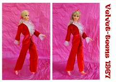 WHO WORE IT BEST? (ModBarbieLover) Tags: 1967 sears exclusive mod tnt doll barbie stacey velvet groovy