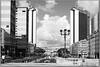 Napoli - Centro Direzionale (gennaromignolo) Tags: directionalcenter naples napoli italia italy biancoenero blackandwhite street campania bw