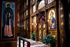 Iconography (**PhotoSchmoto**) Tags: church icons orthodox iconography orthodoxy easternorthodox gracanica pravoslav pravoslava pravoslavje