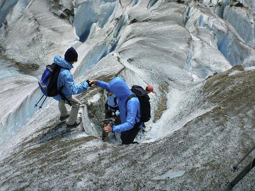 Gefuehrte Gletschertour Aletschgletscher