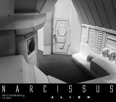 NARCISSUS55 (sith_fire30) Tags: alien narcissus nostromo shuttle lifeboat aliens isolation sevastopol covenant prometheus xenomoph sleep chamber ellen ripley weaver sigourney custom action figures sculpture art sculpting aves fixit sculpt avesstudio diorama scratchbuilding modelmaking