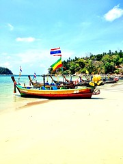 Long Tail Boats (kbattaloo) Tags: ocean travel beauty thailand boat tour phuket karonbeach