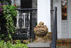 Garden District (Harobed and Samoht) Tags: sculpture architecture garden neworleans wroughtiron gardendistrict 2013
