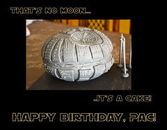that's no moon (petereaton) Tags: food cake this star wars ate iatethis paquito