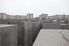 Holocaust Memorial (leonvanwoerkom) Tags: berlin germany holocaust memorial