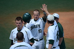 Baseball vs Richmond (A10 Tournament), 5/22/2013, Chris Crews, DSC_2782 (NinerOnline) Tags: university baseball spiders 49ers richmond tournament unc a10 uncc charlote ninermedia