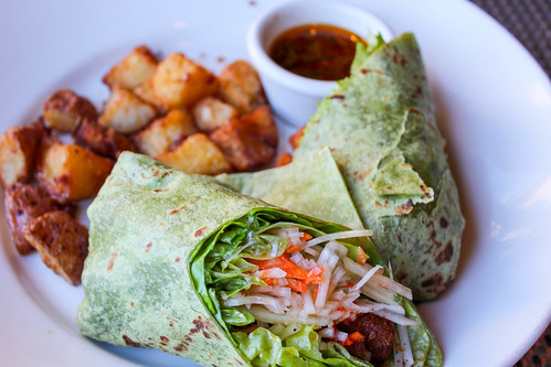 Asian-Style Vegetable Wrap
