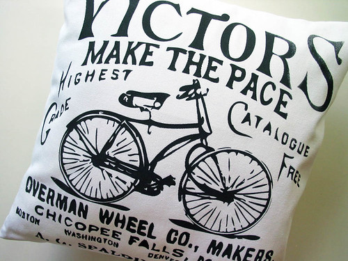 Screenprinted Pillow Cover