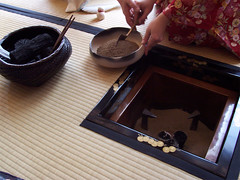 Graduation Tea Ceremony (Crowbeak.Sasquatch) Tags: club japanese  teaceremony coals