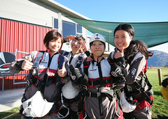Kitted up and ready to jump (NZONE Skydive) Tags: newzealand skydiving southisland queenstown skydive parachuting parachute freefall tandemskydive tandemskydiving freefalling