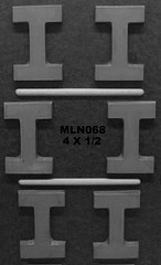 MLN068 (Chocolate Concepts) Tags: chocolate letters number numbers letter mold i