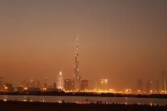 Dubai.. View from Ras Al Khor (Sreekanth Raveendran) Tags: dubai united uae emirates arab nightview unitedarabemirates burj khaleefa burjkhaleefa sheikhsyedroad dubainightview