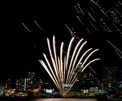 Docklands Winter Fireworks 5-7- 2013 #5 (Robert Phan Photography) Tags: winter night fireworks stadium july melbourne firework docklands dockland 2470 etihad 2013 nikond600 etihadstadium winterfireworks wwwrobertphanphotographycom