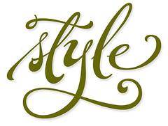Style (Stephen Rapp) Tags: brush calligraphy brushlettering