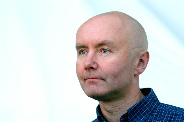 Irvine Welsh at the 2003 Edinburgh International Book Festival