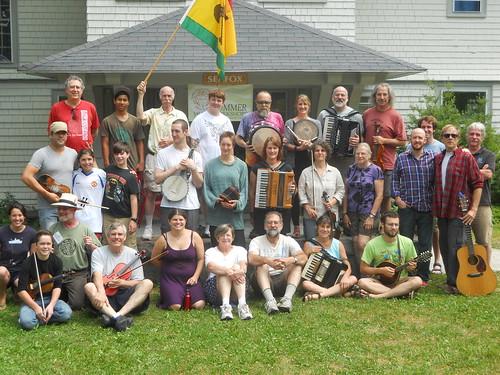 Members of the Acadia Trad School 2013 Week-2 program