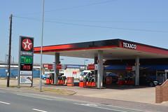 Texaco, Ipswich Suffolk. (EYBusman) Tags: road station suffolk garage gas service petrol gasoline texaco chevron ipswich filling valero nacton eybusman