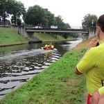 Bewaking Triatlon Klazinaveen, samen met mensen van Nijeveen, Zwolle, Delft, Vinkeveen, Zevenaar en Amersfoort