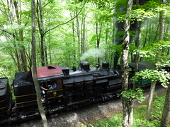the 12:00 train (ctcrankees) Tags: westvirginia steamtrain cassscenicrailway