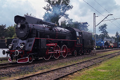 Ol49-69 (Tisosek) Tags: train poland retro steam locomotive trainspotting ol49 chabwka parowozjada