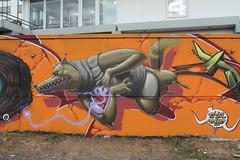 urban disturbance pre-wall (Pixeljuice23) Tags: streetart graffiti wiesbaden urbandisturbance pixeljuice pixeljuice23
