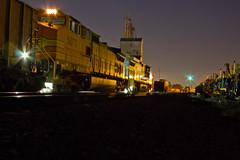 Tied down on the main. (Machme92) Tags: santa railroad santafe nightshot trains bnsf kline oldmonroe