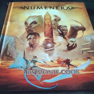 Yay, my copy of Numenera finally arrived, and ...