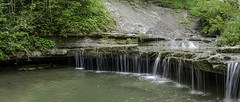 Waterfall Over Sedimentary Plate (Brandon_Hilder) Tags: nikon nikkor nikon18200mm landscape landscapes waterfall waterfalls panorama panophotostitch 18200mm nikond7000 d7000 d7k