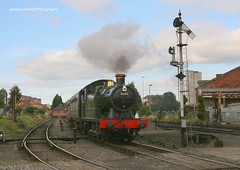5643 at Kidderminster (70C Photography) Tags: autumn shropshire steam railways gala severnvalleyrailway 2013