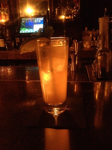 Dorothy Parker gin with mint eucalyptus tonic