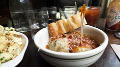 [307/365] (a.has) Tags: nyc newyorkcity friends food ny newyork table lumix heather manhattan panasonic 365 tableshot 2013 lx3 365v2 365v3 2013inphotos