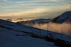 Evening clouds (mi lunger) Tags: sunset cloud mountain alps clouds evening easternalps