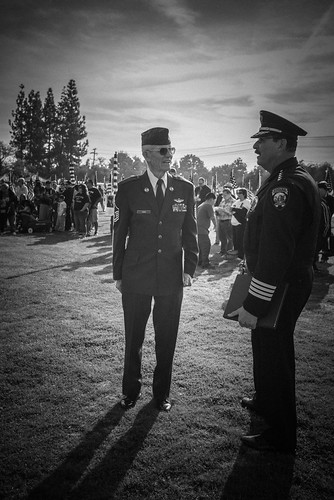 The Chief and the Chief Master Sergeant