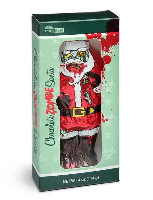 今年來點不一樣的驚喜?僵屍聖誕老公公巧克力