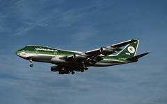 YI-AGN B.747-270C Iraqi Airways (ChrisChen76) Tags: heathrow iraq b747 iraqiairways b747270c