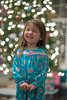 So excited!!! (nsioss) Tags: christmas pink blue light holiday girl childhood smiling toddler natural happiness indoor preschool excitement pajamas nightgown 3yearold