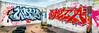 Vandal Art (Sky Noir) Tags: streetart art graffiti mural colorful pano wide 13 aspect skynoir