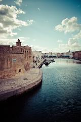 Vieux Port (adn.zouaoui) Tags: port tunisia north 1855 effect tunisie bizerte vieux lightroom patrimoine effet mediteranean nikond3200 mediterranee d3200 ksiba