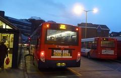 200 Artington Enviro300 (bobsmithgl100) Tags: bus surrey alexander dennis guildford 27837 bwj friarybusstation route200 enviro300 stagecoachhantssurrey gx62 gx62bwj