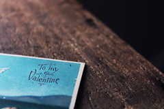 my favorite holiday is coming (48valentine) Tags: wood holiday love vintage paper office day heart post mail antique postcard grain victorian valentine retro stamp note card send letter valentines write cupid written letterpress valentinesday papergoods